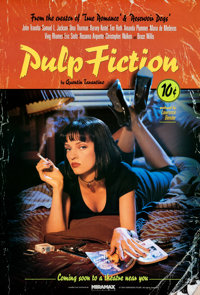 "Pulp Fiction (Miramax, 1994). Rolled, Very Fine+. One Sheet (27"" X 40"") SS Withdrawn Advance, Lucky Strike Sty..."