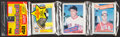 Baseball Cards:Unopened Packs/Display Boxes, 1985 Topps Baseball Rack Pack With Roger Clemens and Mark McGwire on Front!...