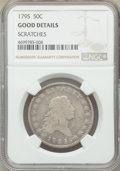 1795 50C 2 Leaves -- Scratches -- NGC Details. Good. Mintage 299,680. ...(PCGS# 6052)