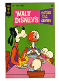 Bronze Age (1970-1979):Cartoon Character, Walt Disney's Comics and Stories #368 Signed By Carl Barks (GoldKey, 1971) Condition: VF/NM....