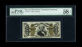 Fractional Currency:Third Issue, Fr. 1331 50c Third Issue Spinner PMG Choice About Unc 58 EPQ....