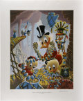 Original Comic Art:Miscellaneous, Carl Barks - First National Bank of Cibola, Regular EditionLithograph, numbered 4/345 (Another Rainbow, 1987). . ...