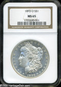 Morgan Dollars: , 1893-O MS65 NGC. Ten obverse dies were shipped to the New ...