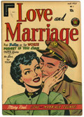 Golden Age (1938-1955):Romance, Love and Marriage #1 (Superior, 1952) Condition: VF-....