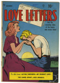 Golden Age (1938-1955):Romance, Love Letters #1 (Quality, 1949) Condition: VG....