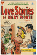 Golden Age (1938-1955):Romance, Love Stories of Mary Worth #1 (Harvey, 1949) Condition: VF....
