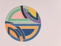 Frank Stella (b. 1936) Sinjerli Variation II, 1977 Offset lithograph and screenprint in colors on Ar
