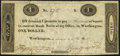 Obsoletes By State:Ohio, Worthington, OH- Ezra Griswold $1 May 29, 1819 Choice About Uncirculated.. ...