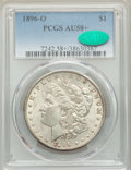 1896-O $1 AU58+ PCGS. CAC. PCGS Population: (1549/1595 and 23/42+). NGC Census: (1786/1355 and 8/11+). CDN: $300 Whsle...