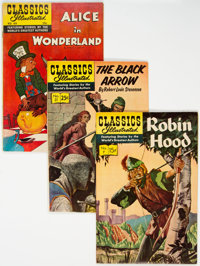Classics Illustrated HRN 166 Group of 47 (Gilberton, 1960s) Condition: Average FN/VF.... (Total: 47 )