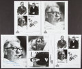 Football Collectibles:Photos, Art Rooney Signed Photograph Lot (5)....