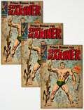 Silver Age (1956-1969):Superhero, The Sub-Mariner #1 Group of 3 (Marvel, 1968) Condition: Average VG.... (Total: 3 )