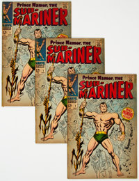 The Sub-Mariner #1 Group of 3 (Marvel, 1968) Condition: Average VG.... (Total: 3 )