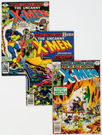 X-Men Group of 8 (Marvel, 1978-81) Condition: Average NM-.... (Total: 8 Comic Books)