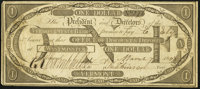Westminster, VT- Vermont State Bank Office of Discount & Deposit $1 Mar. 7, 1808 Very Fine