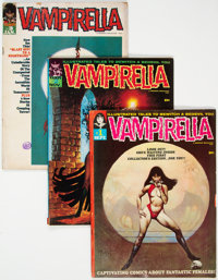 Vampirella #1-50 Group (Warren, 1969-76) Condition: Average FN.... (Total: 53 Comic Books)