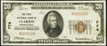 National Bank Notes:Pennsylvania, Clarion, PA - $20 1929 Ty. 1 The First National Bank Ch. # 774 Very Fine-Extremely Fine.. ...