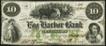 Obsoletes By State:New Jersey, Egg Harbor City, NJ- Egg Harbor Bank $10 Aug. 15, 1861 Fine-Very Fine.. ...