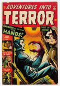 Golden Age (1938-1955):Horror, Adventures Into Terror #14 (Atlas, 1952) Condition: GD+....