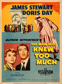 """The Man Who Knew Too Much (Paramount, 1956). Rolled, Fine/Very Fine. Poster (30"""" X 40"""")"""