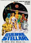 Movie Posters:Science Fiction, Star Wars (20th Century Fox, 1977). Folded, Very Fine....