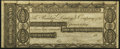 Obsoletes By State:Rhode Island, Newport, RI- New England Commercial Bank $100 18__ Remainder Extremely Fine-About Uncirculated.. ...