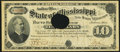 Obsoletes By State:Mississippi, Jackson, MS- State of Mississippi $10 Special Warrant June 15, 1894 Cr. 65 Extremely Fine.. ...