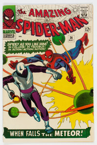The Amazing Spider-Man #36 (Marvel, 1966) Condition: FN/VF