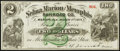 Obsoletes By State:Alabama, Marion, AL- Selma, Marion and Memphis Railroad Co. $2 Mar. 1, 1871 Remainder Extremely Fine.. ...