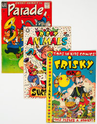 Frisky Animals Group (Star Publications, 1950-58).... (Total: 4 Comic Books)