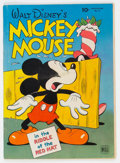 Golden Age (1938-1955):Cartoon Character, Four Color #79 Mickey Mouse (Dell, 1945) Condition: VG....