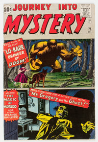 Journey Into Mystery #75 (Marvel, 1961) Condition: FN