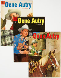 Gene Autry Comics Group of 26 (Dell, 1949-59) Condition: Average VF/NM.... (Total: 26 )