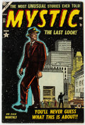 Golden Age (1938-1955):Science Fiction, Mystic #31 (Atlas, 1954) Condition: VG....