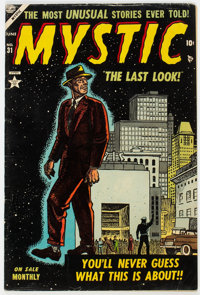 Mystic #31 (Atlas, 1954) Condition: VG