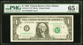 Small Size:Federal Reserve Notes, Fr. 1914-F* $1 1988 Federal Reserve Note. PMG Gem Uncirculated 65 EPQ.. ...