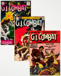 Golden Age (1938-1955):War, G.I. Combat Group of 14 (DC/Quality, 1953-76).... (Total: 14 )