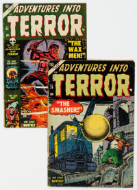 Adventures Into Terror #24 and 28 Group (Atlas, 1953-54).... (Total: 2 Comic Books)