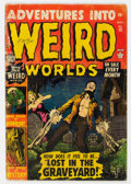 Golden Age (1938-1955):Horror, Adventures Into Weird Worlds #12 (Atlas, 1952) Condition: GD....