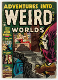 Golden Age (1938-1955):Horror, Adventures Into Weird Worlds #5 (Atlas, 1952) Condition: VG-....