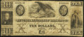 Obsoletes By State:Georgia, Augusta, GA- Augusta Insurance and Banking Co. $10 Nov. 30, 1852 Fine.. ...