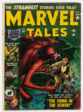 Golden Age (1938-1955):Horror, Marvel Tales #107 (Atlas, 1952) Condition: GD/VG....
