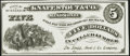 Obsoletes By State:Wisconsin, Menomonie, WI- Knapp, Stout & Co. $5 ND Choice Crisp Uncirculated.. ...