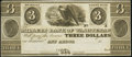 Obsoletes By State:Michigan, Ann Arbor, MI- Millers Bank of Washtenaw $3 18__ Remainder Crisp Uncirculated.. ...
