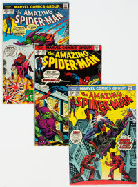 The Amazing Spider-Man Group of 7 (Marvel, 1973-75) Condition: Average VG/FN.... (Total: 7 Comic Books)