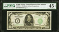 Fr. 2212-F $1,000 1934A Federal Reserve Note. PMG Choice Extremely Fine 45 EPQ
