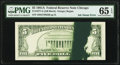 Error Notes:Ink Smears, Green Ink Smear Fr. 1977-G $5 1981A Federal Reserve Note. PMG Gem Uncirculated 65 EPQ.. ...