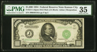 Fr. 2211-J $1,000 1934 Federal Reserve Note. PMG Choice Very Fine 35