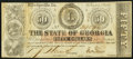 Obsoletes By State:Georgia, Milledgeville, GA- State of Georgia $50 Feb. 2, 1863 Cr. 7 Very Fine.. ...