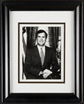 Autographs:Photos, Jeb Bush Signed, Framed Photograph. Offered is a f...